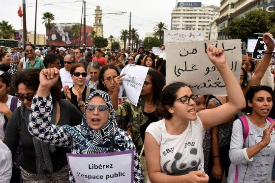 1049281-manifestation-a-casablanca-maroc