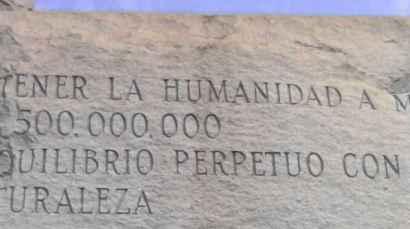 L'objectif est d garder 500 Millions d'habitants sur Terre