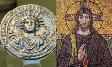 Pagan christian cult to Jesus