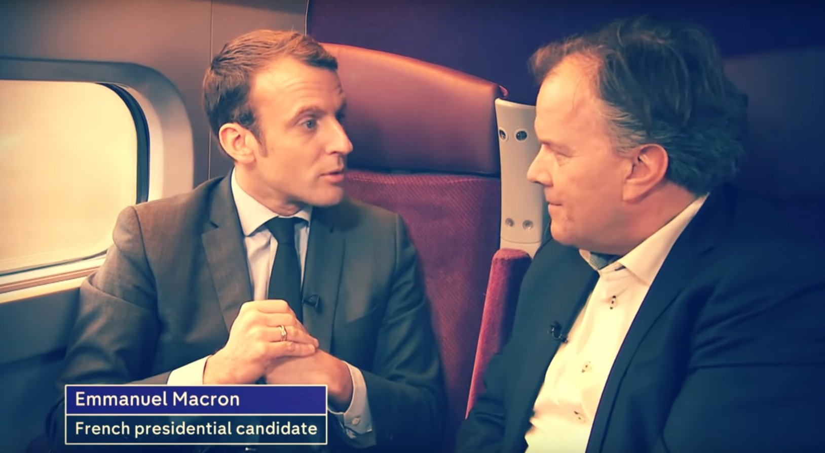 macron interview