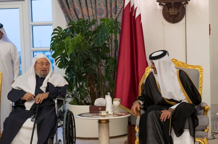 19-05-13-Qatar's-ruler-Emir-Tamim-and-hate-preacher-Yousef-al-Qaradawi
