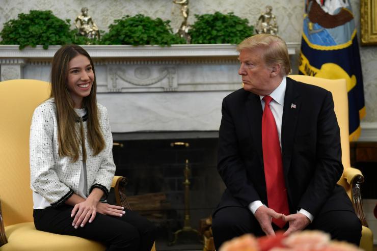 Donald Trump, Fabiana Rosales