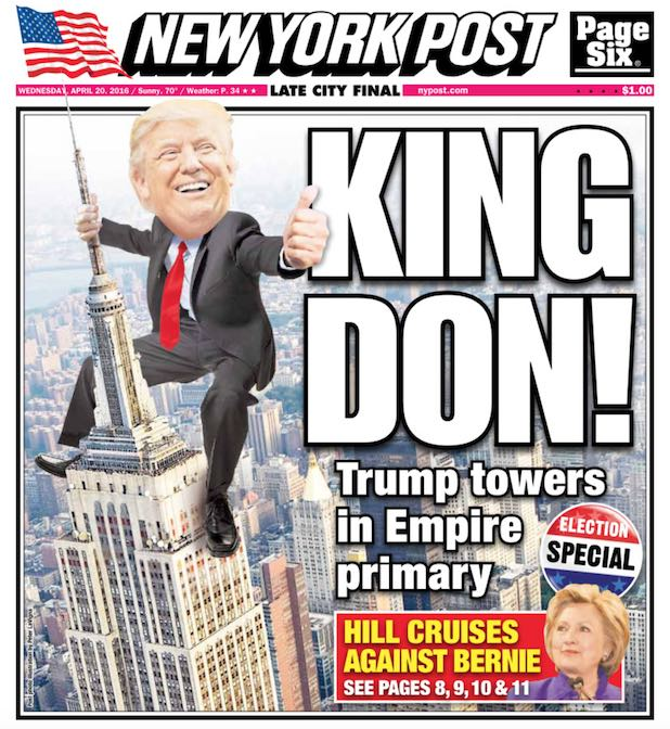 Donald-Trump-King-NY-Post-