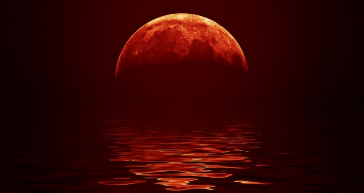 Longest-Lunar-Eclipse-Blood-Red-Moon-i489485813