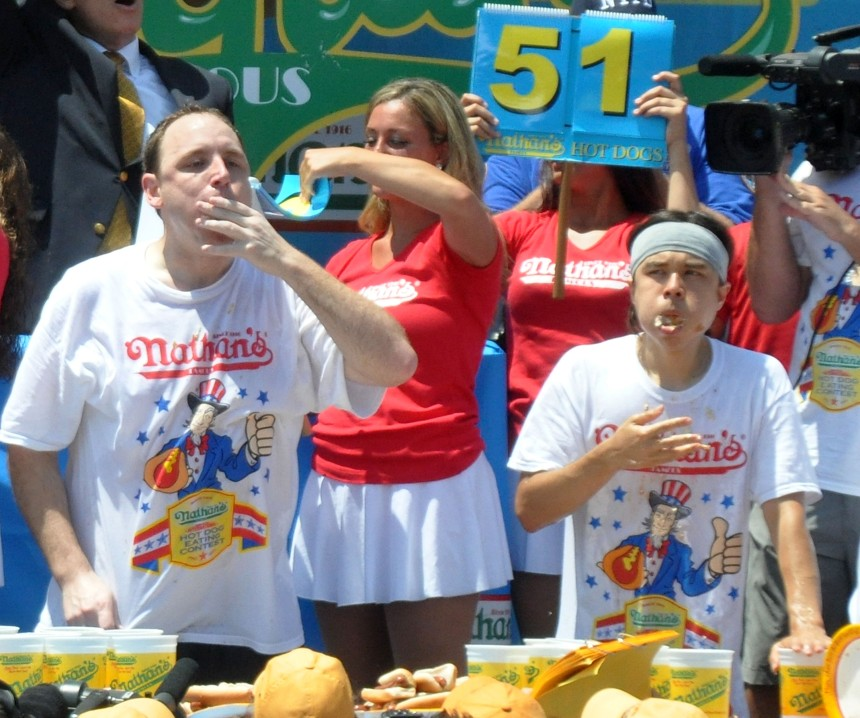 2013 Nathan's Famous Hot Dog Eating Contest