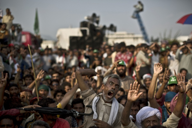 Protes Pakistan