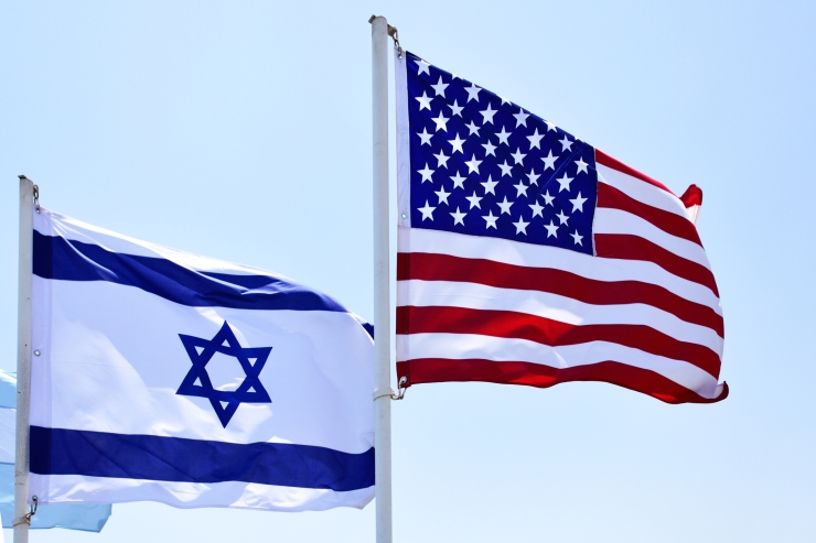 trump-usa-israel-flags