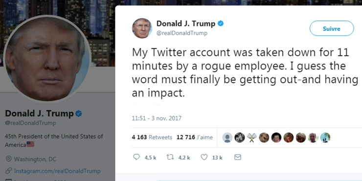 Un-employees-de-Twitter-prive-Donald-Trump-de-son-compte-pendant-11-menit