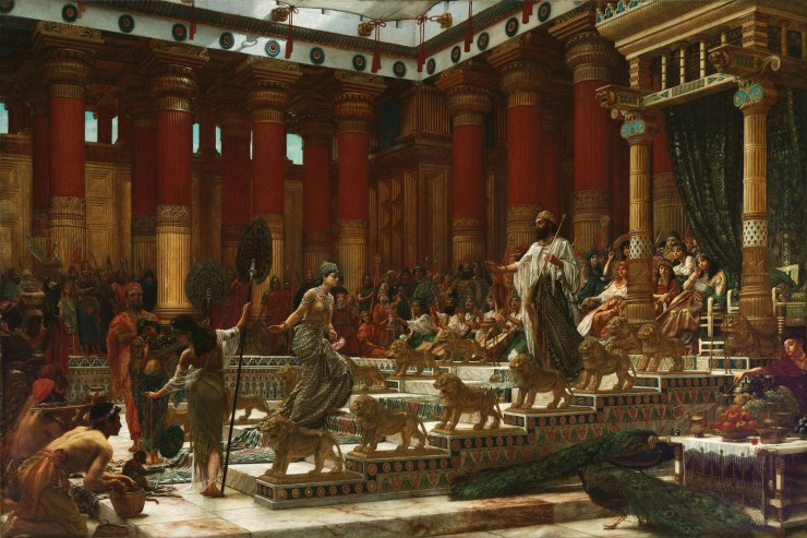 Visit-Queen-of-Sheba-Edward-John-Poynter-1890
